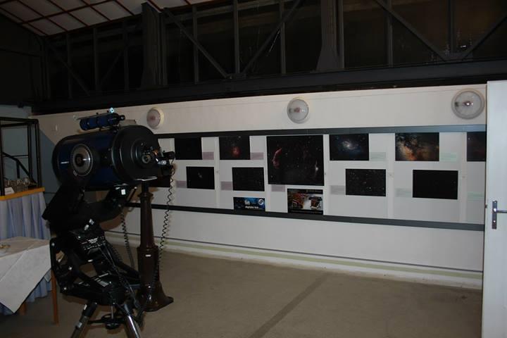 výstava fotografií na hvězdárně Prostějov