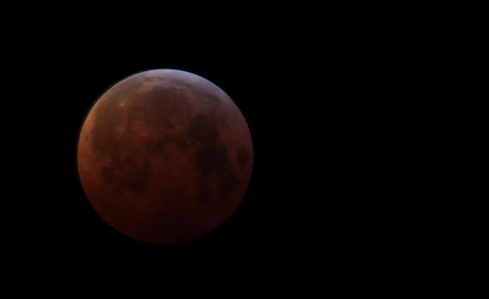 Měsíc z Ještědu, foto: Sahure
