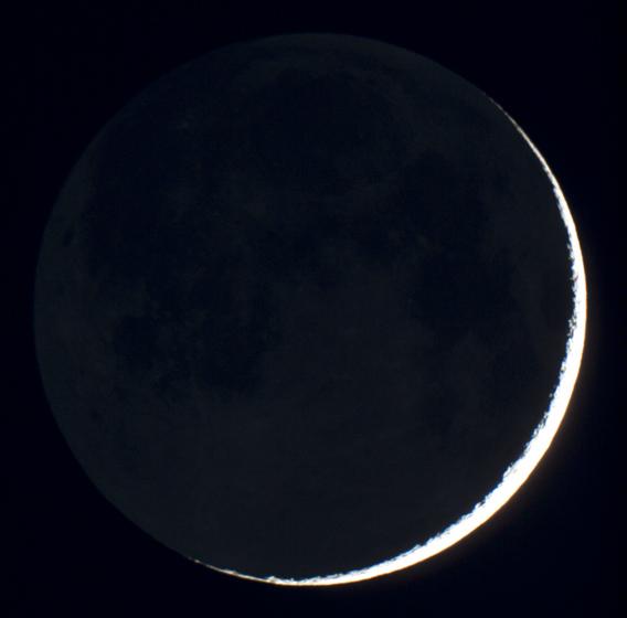 Měsíc s popelavým svitem