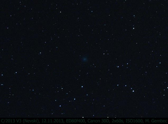 kometa 2013 V3 Nevski 12.11.2013, foto: MaG