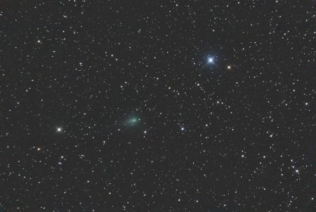 C/2019 Y4 (ATLAS), 9. 4. 2020, 21:35 SELČ, 26×20s, ISO6400