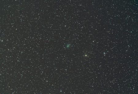 C/2019 Y4 (ATLAS), 17. 4. 2020, 15×30s, na kometu