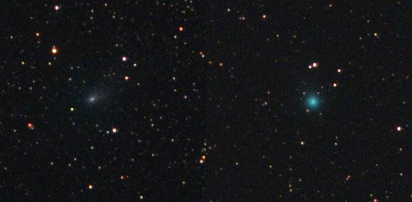 komety 21p a 2017 s3 14. 7. 2018