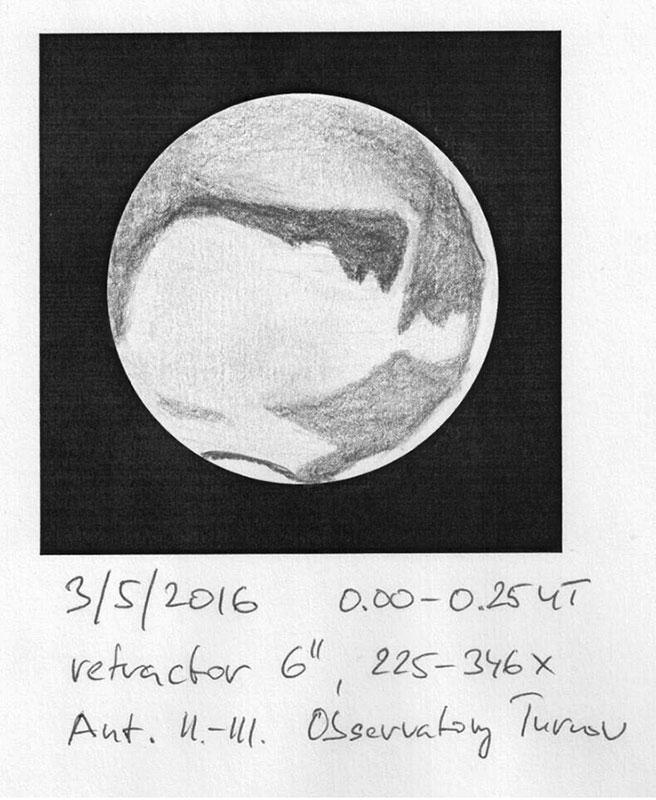 Mars kresba Aleš Majer