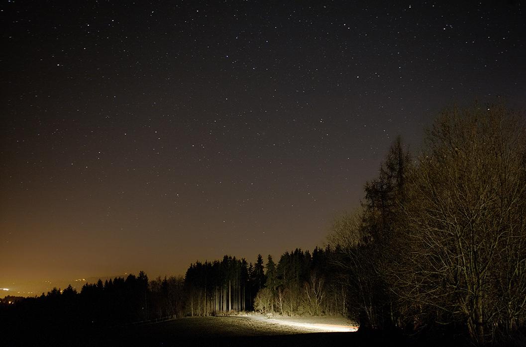 Kometa 46P Canonem 5D