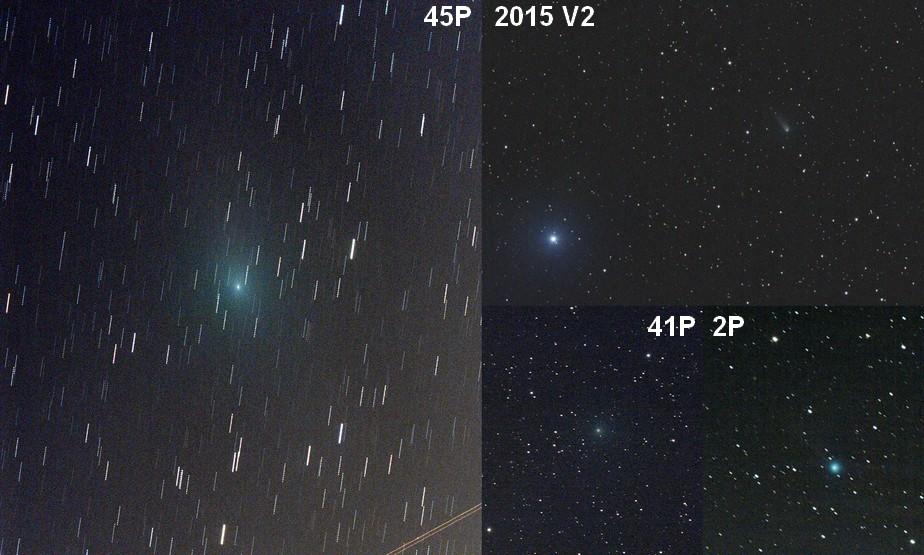4 komety 15.2.2017