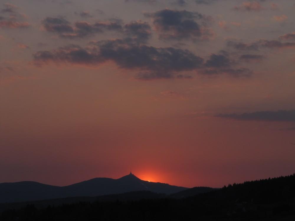 Západ Slunce 21.4.2011