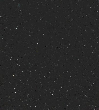 88P/Howell 17. 4. 2020, kolem 23:50 SELČ, 15×30s, ISO12800, Canon 6D, Celestron ED80+Vixen 0,67×