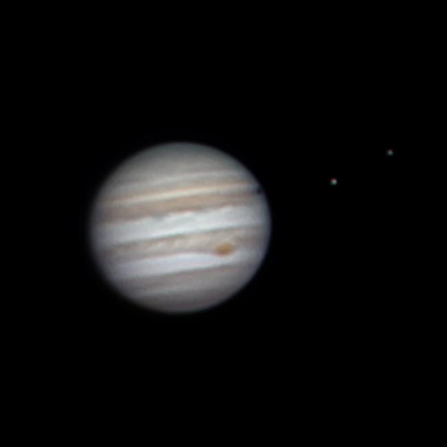 Jupiter 29.5.2017, zpracování Pavel Prokop