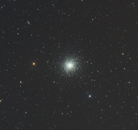 M13, 10×30s, ISO6400, Canon 6D, Orion CT8