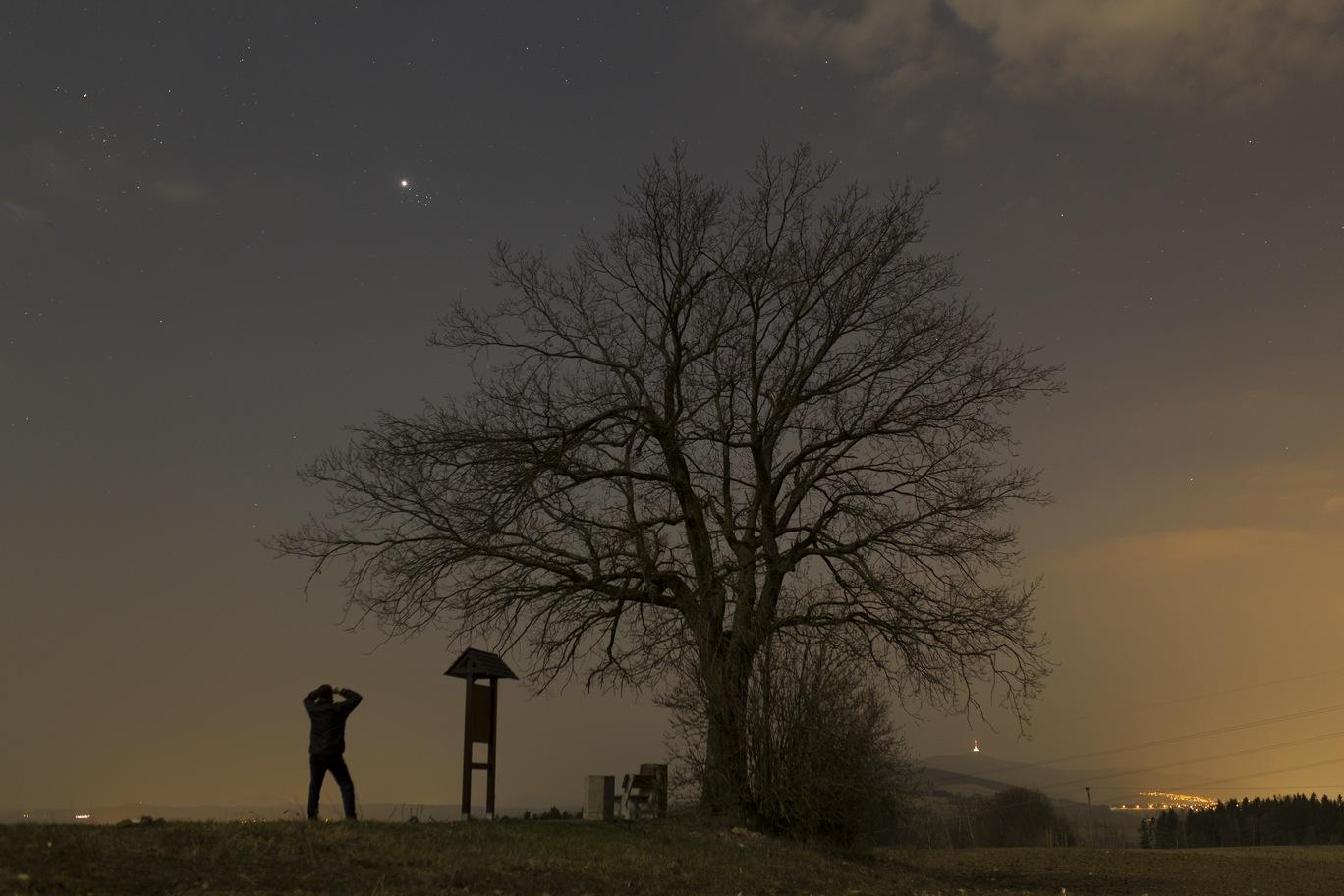Venuše a Plejády 4.4.2020