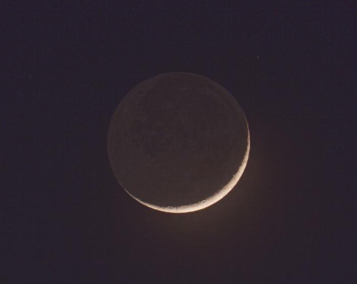 Měsíc HDR