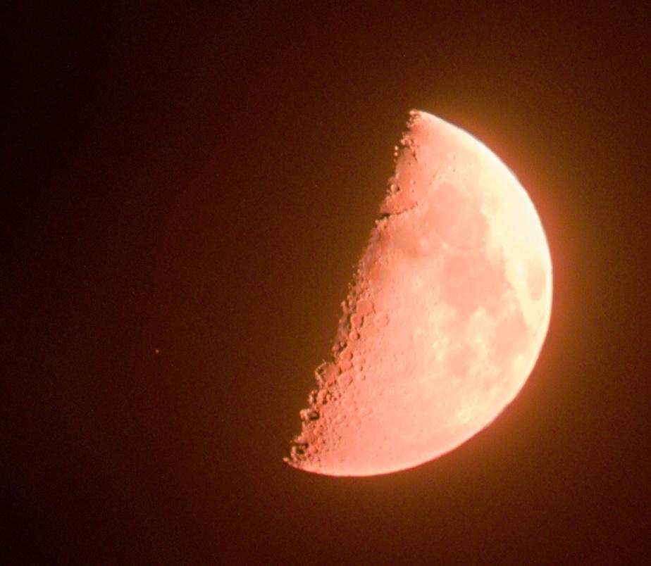Měsíc a theta Librae 22. 8. 2015