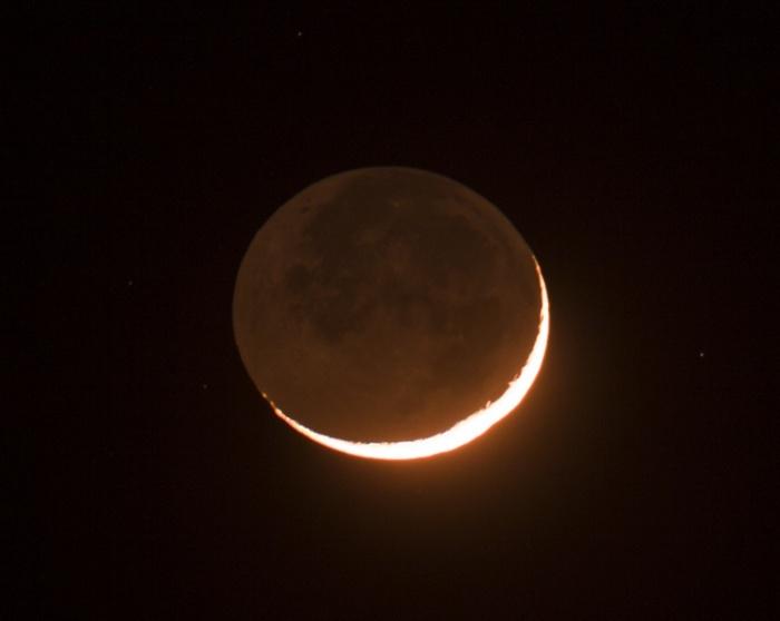 Měsíc západ