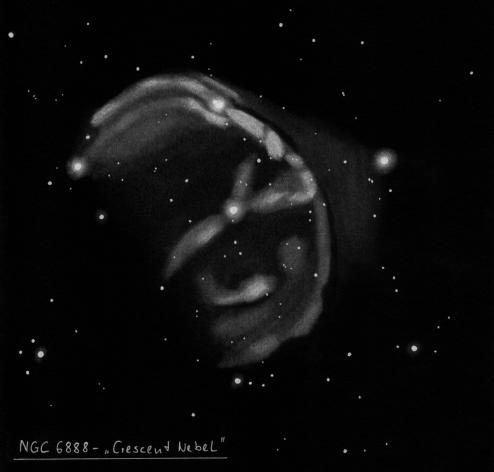 Crescent NGC688 (autor Uwe Glahn)