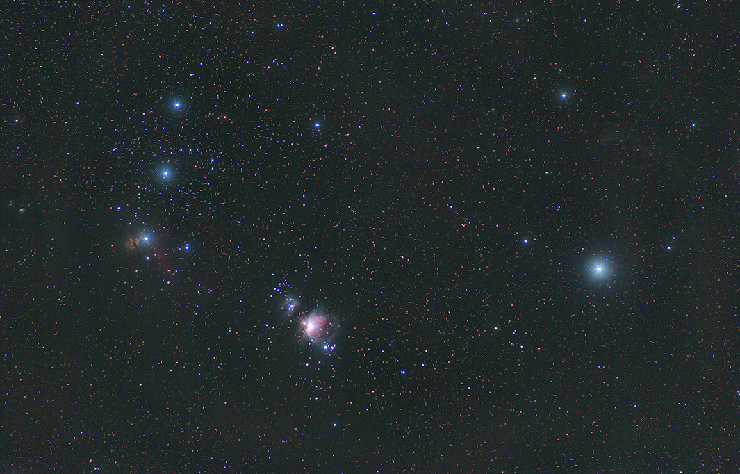 Orion 135 mm