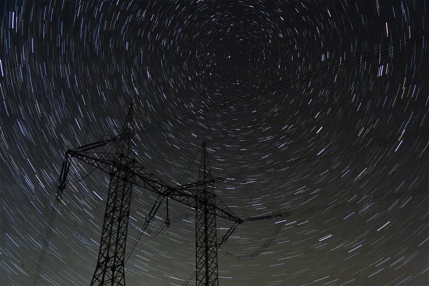 Startrails 400 kV