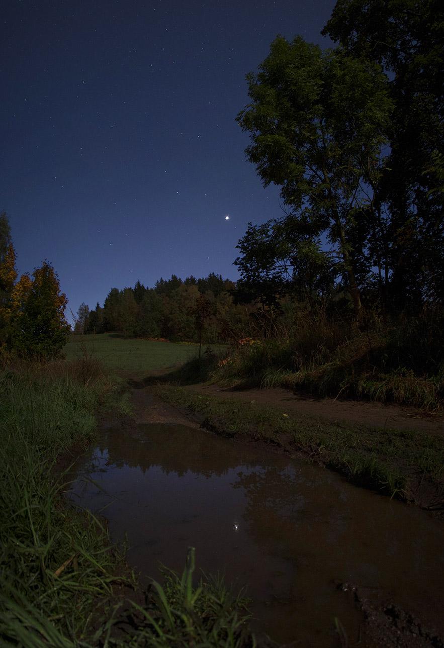 Venuše u Regula - kaluž - panorama, foto: M. Gembec