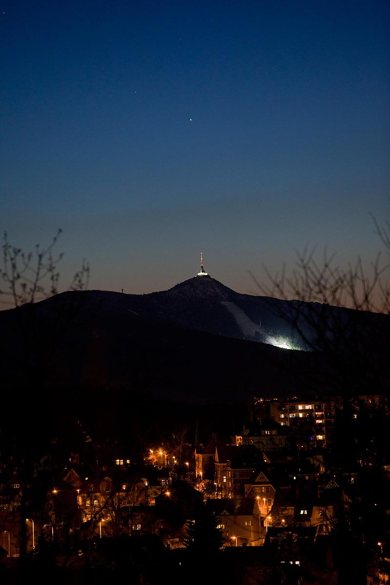 Merkur nad Ještědem. Aleš Majer