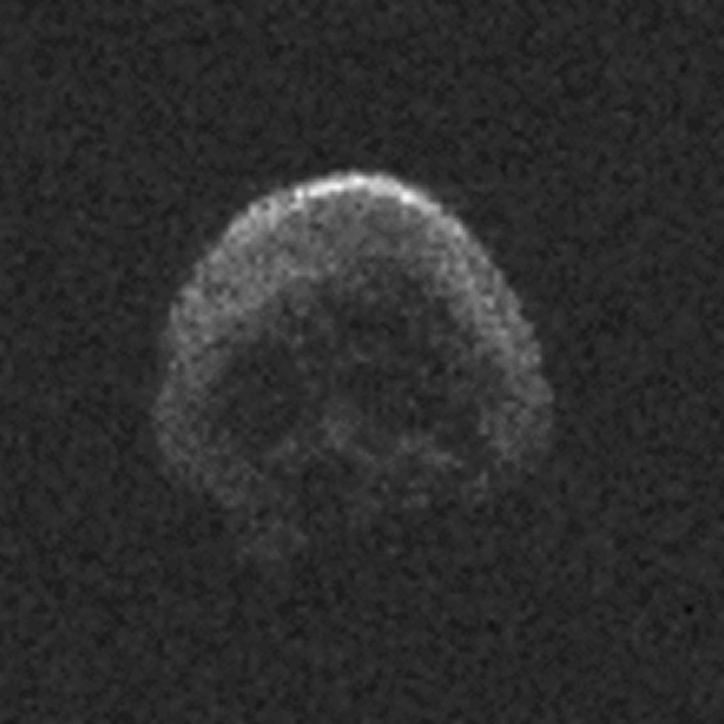 Asteroid ohmataný radarem