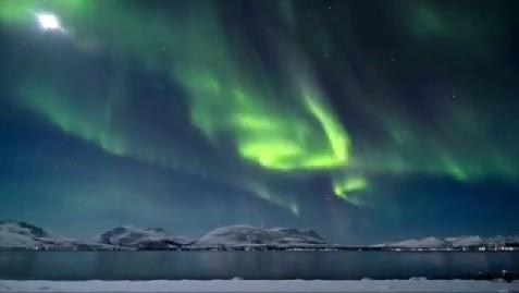 Vznik polárních září