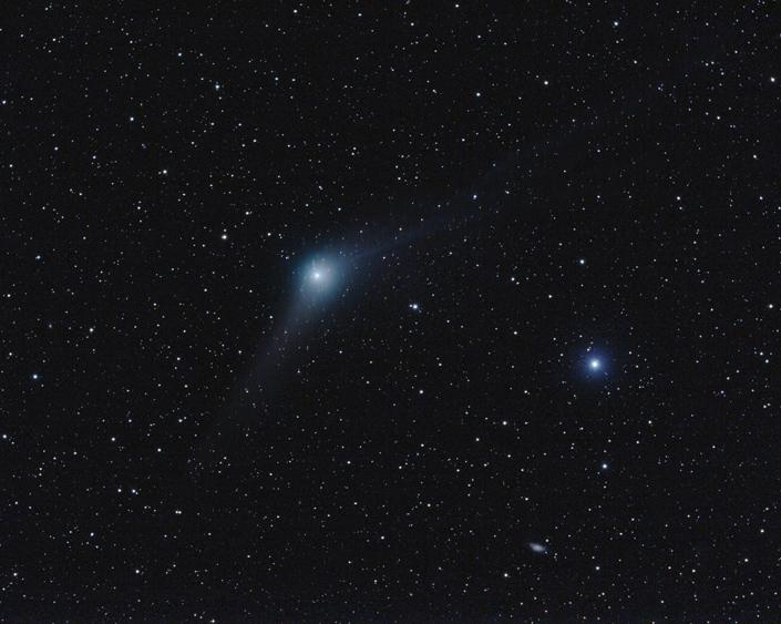 Kometa C/2009 P1 (Garradd) 27.2.2012. Foto: Martin Gembec