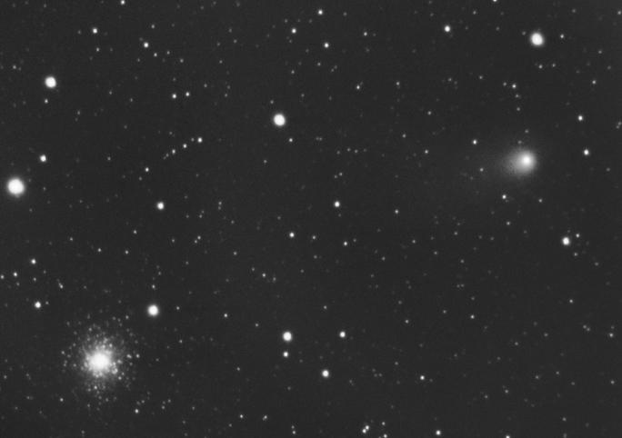 kometa Garradd a M15 Martin Mašek