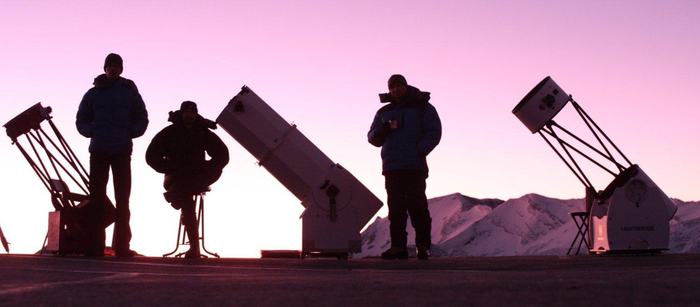Hopi, Vic a Aleš na Edelweissspitze