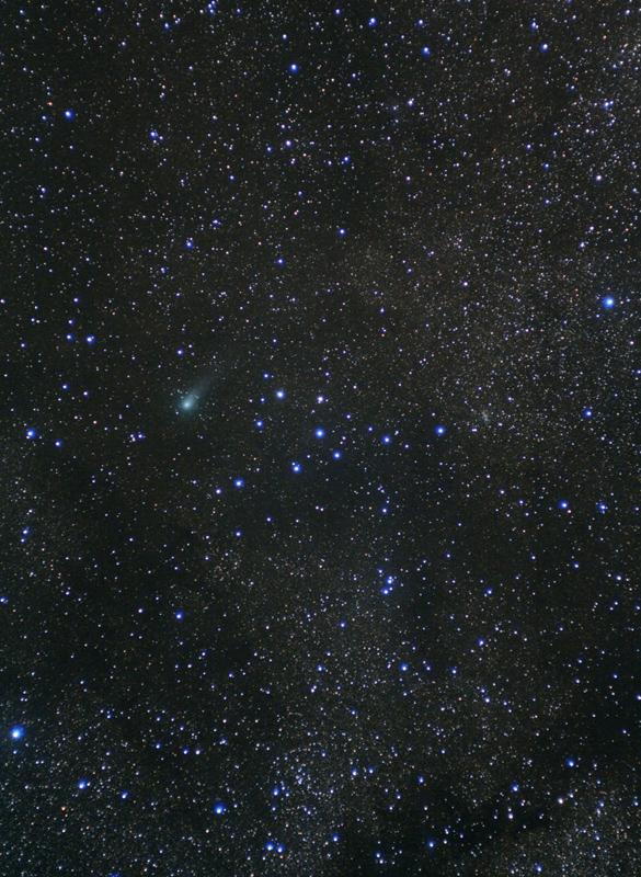Kometa C/2009 P1 (Garradd) u seskupení Ramínko
