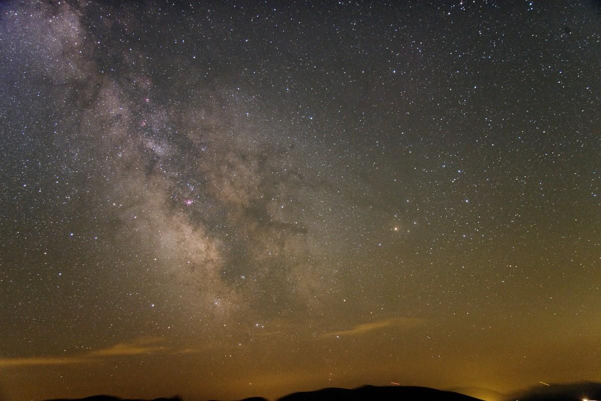 jižní Mléčná dráha na Mazinu 2013