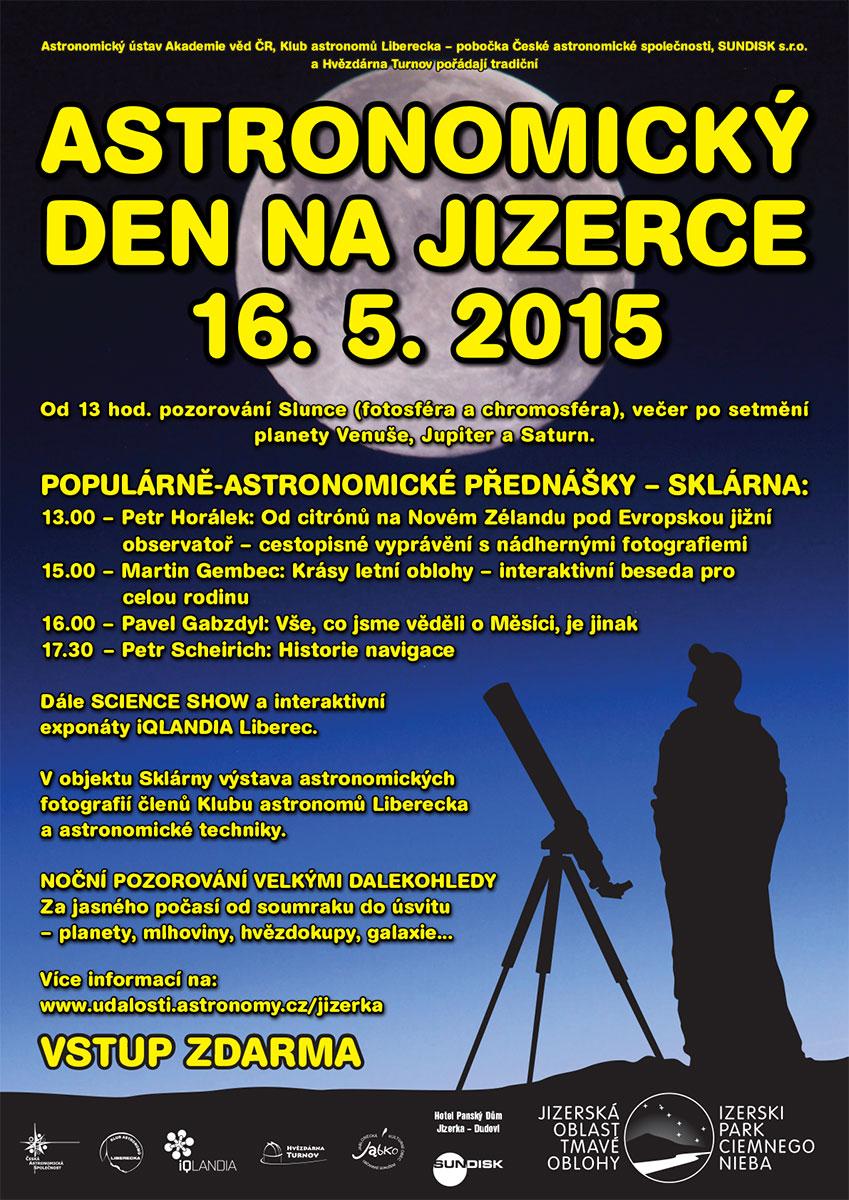 Astronomický den na Jizerce 2015