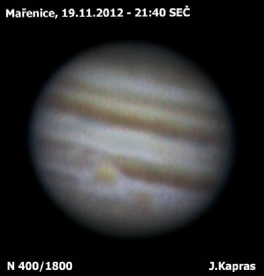 Jupiter 19.11.2012, Jiří Kapras