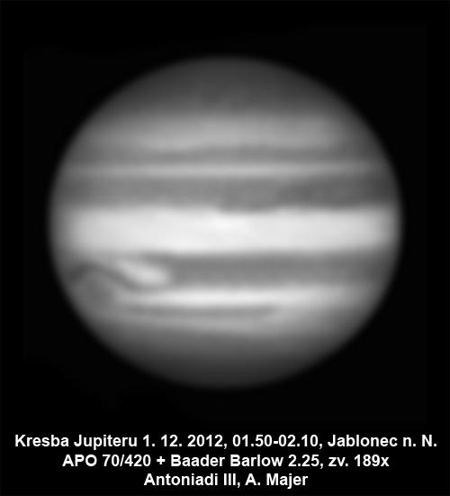 Jupiter 30. 11. 2012 Aleš Majer