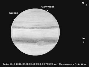 Jupiter 10. 8. 2012