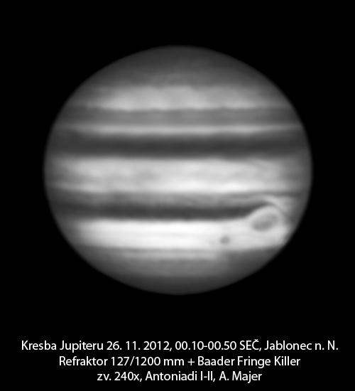 Jupiter 26.11.2012, Aleš Majer