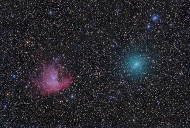 kometa 103P/Hartley 1.10.2010