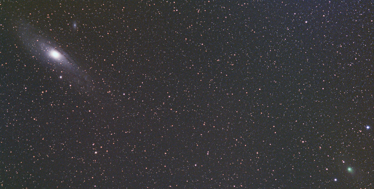 Kometa Lemmon u M31, Dalibor Oršulík