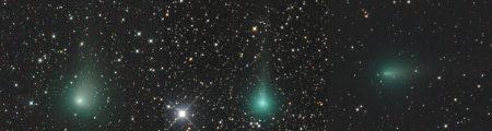 Komety T2 panSTARRS, Y1 ATLAS a Y4 ATLAS 15. dubna 2020
