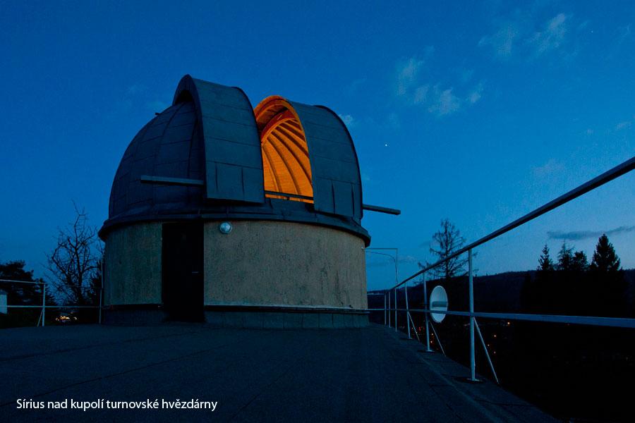 Kupole hvězdárny v Turnově