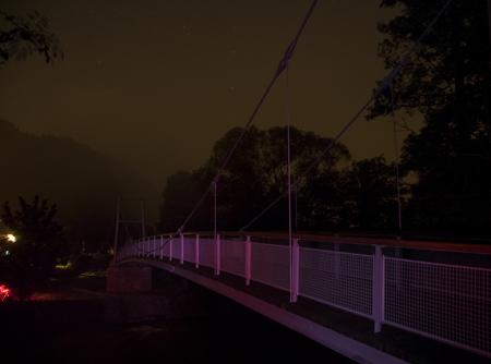 lávka v noci