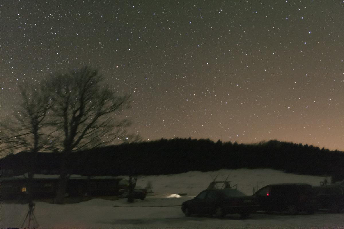 Kometa Lovejoy z Jizerky 14.12.2013, Cassi