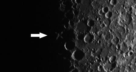 lunar X výřez, foto: Aleš Majer