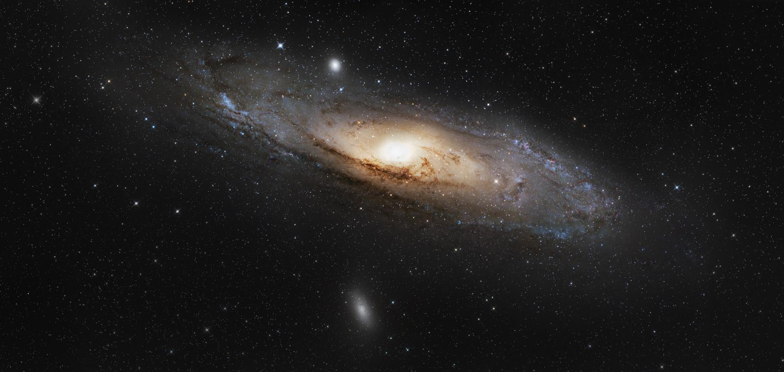 M31, foto Karel a Martin Bůnovi