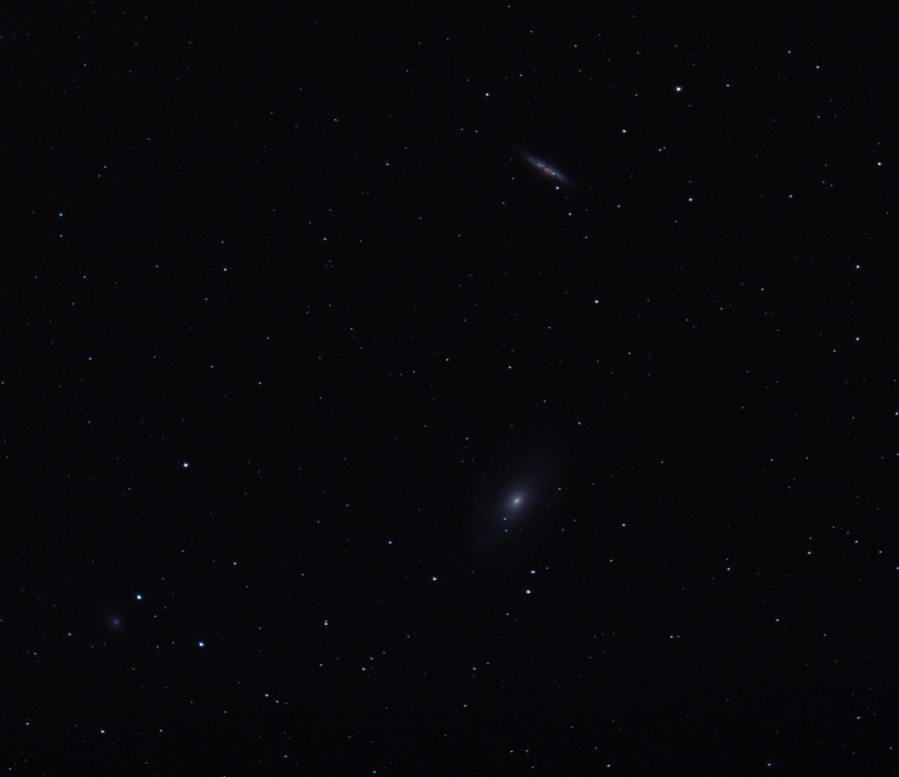 skupina galaxií M81+M82+NGC3077