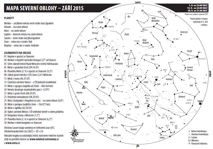 Mapka na září 2015, autor Aleš Majer