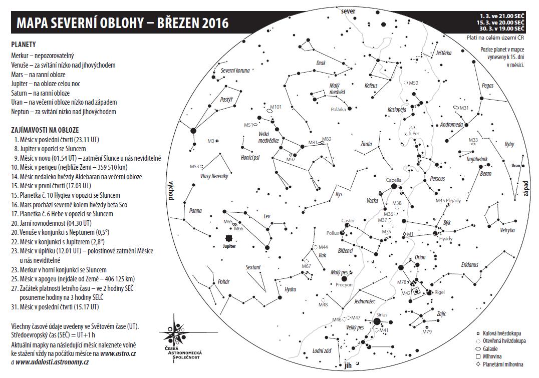 Mapka březen 2016, Aleš Majer