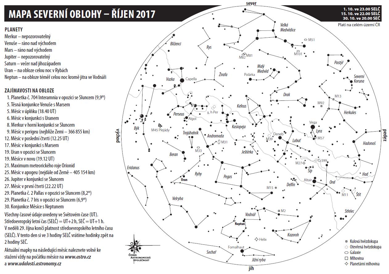 mapka na říjen 2017, autor: Aleš Majer