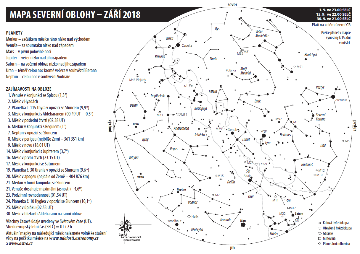 Mapka na září 2018, autor Aleš Majer