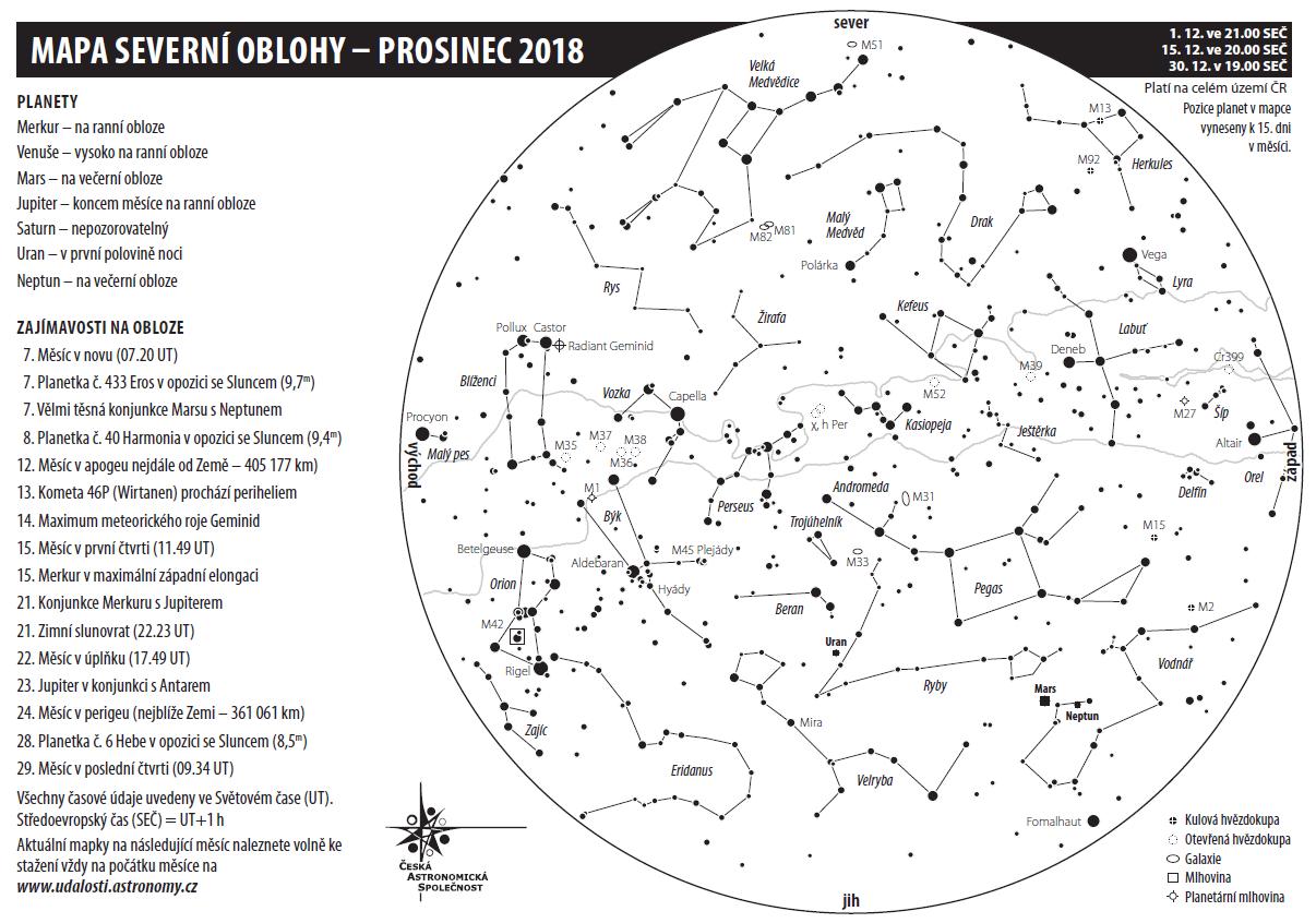 mapka na prosinec 2018, Aleš Majer