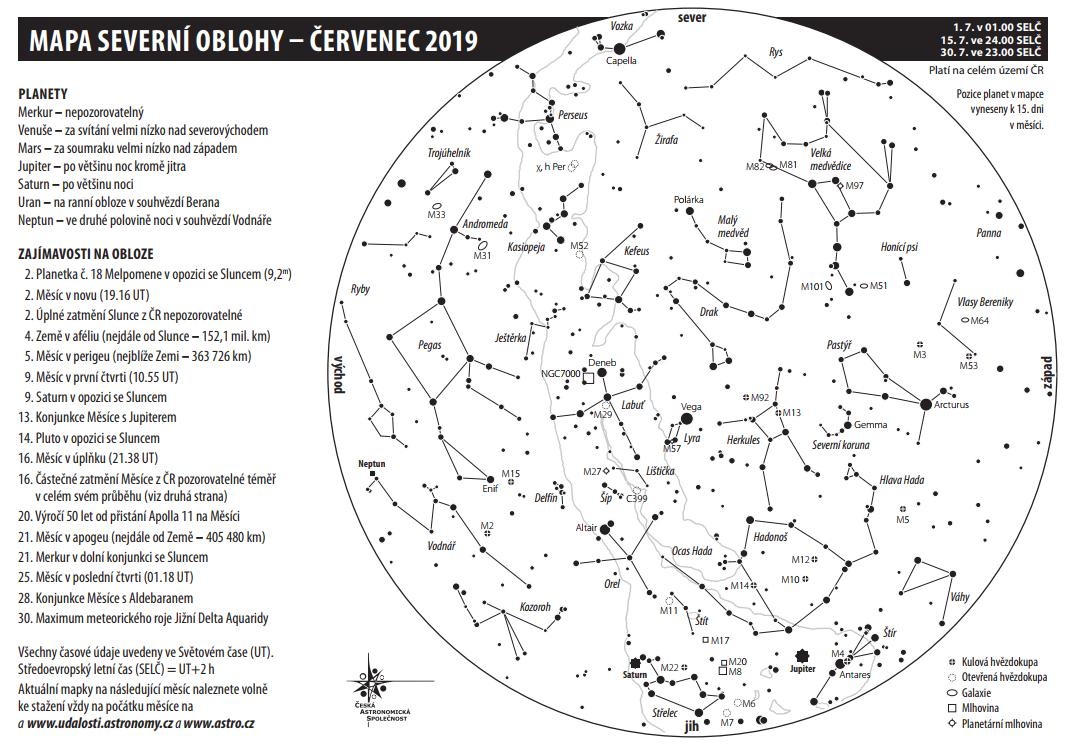 mapka na červenec 2019